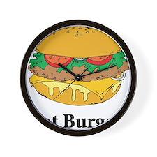 Got Burger Wall Clock
