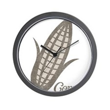 Vintage Corn Wall Clock