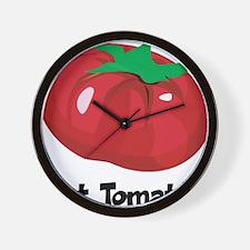 Got Tomato Wall Clock
