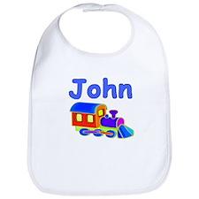 Train Engine John Bib