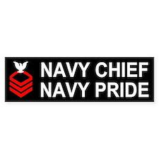 Chief Petty Officer<BR> Bumper Sticker 2