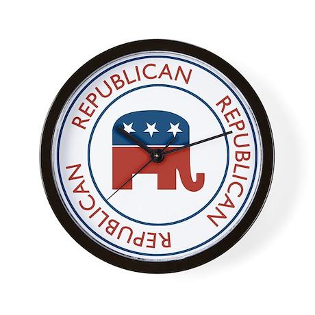 Republican Wall Clock