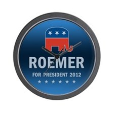 Buddy Roemer For President Wall Clock