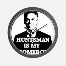 Jon Huntsman Is My Homeboy Wall Clock