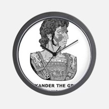 Alexander Is My Homeboy Wall Clock