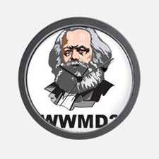 What Would Marx Do Wall Clock
