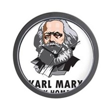 Karl Marx Is My Homeboy Wall Clock