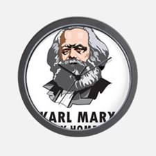 Karl Marx Is My Homeboy Wall Clock