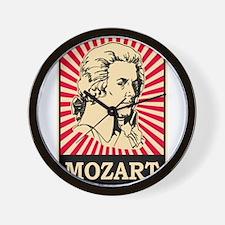 Pop Art Mozart Wall Clock