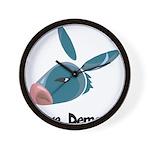 Future Democrat Wall Clock