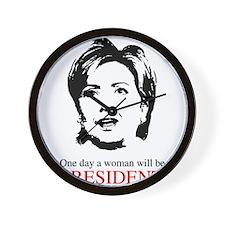 Woman President Wall Clock