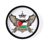 Palestine Emblem Wall Clock