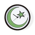 Islamic Symbol Wall Clock