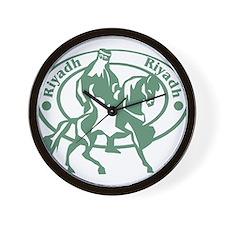 Retro Riyadh Wall Clock