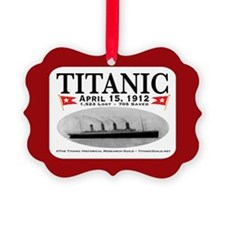 Titanic Ghost Ship (white) Ornament