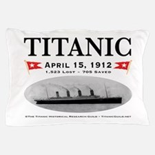 Titanic Ghost Ship (white) Pillow Case