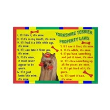 Cute Yorkshire sayings Rectangle Magnet (100 pack)