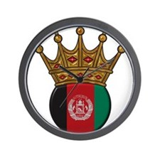 King Of Afghanistan Wall Clock