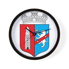 Tirana Coat Of Arms Wall Clock