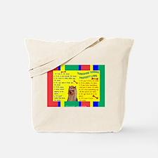 Yorkie (Long Hair) Tote Bag