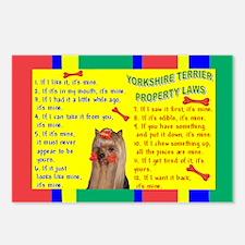 Yorkie (Long Hair) Postcards (Package of 8)