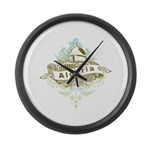 Mosque Algeria Large Wall Clock
