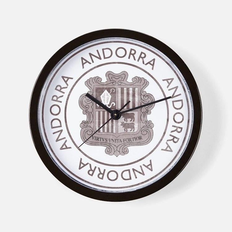 Vintage Andorra Wall Clock