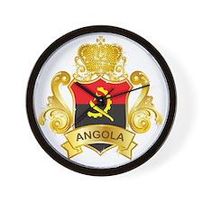 Gold Angola Wall Clock