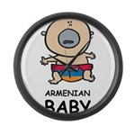 Armenian Baby Large Wall Clock