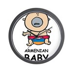 Armenian Baby Wall Clock