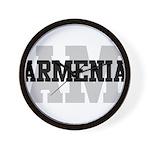 AM Armenia Wall Clock