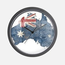 Cute Australia Wall Clock