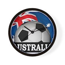 Australia Foorball Wall Clock