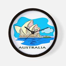 Australia Sydney Opera House Wall Clock
