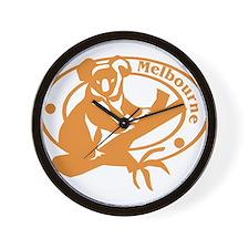 Melbourne Wall Clock