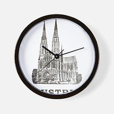 Vintage Austria Wall Clock