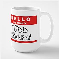 Its me... TODD KRAINES! Stainless Steel Travel Mug