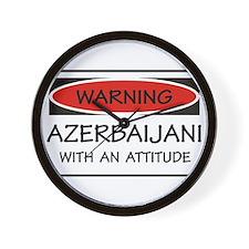 Attitude Azerbaijani Wall Clock