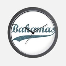 Vintage Bahamas Wall Clock