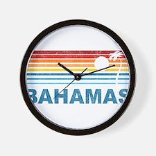 Cute Bahamas Wall Clock
