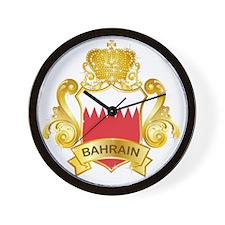 Gold Bahrain Wall Clock