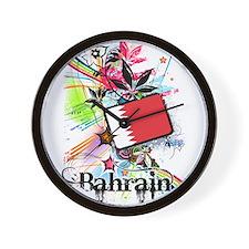 Flower Bahrain Wall Clock