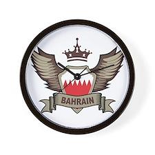 Bahrain Emblem Wall Clock