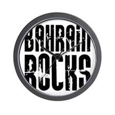 Bahrain Rocks Wall Clock