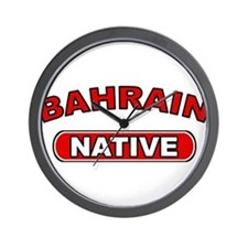 Bahrain Native Wall Clock