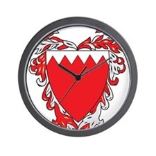 Bahrain Coat Of Arms Wall Clock