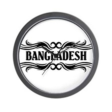 Tribal Bangladesh Wall Clock