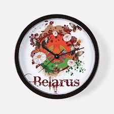 Butterfly Belarus Wall Clock