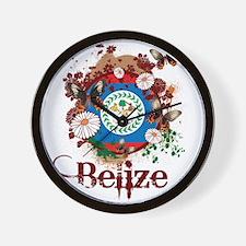 Butterfly Belize Wall Clock