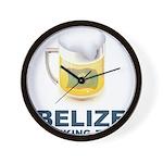 Belize Drinking Team Wall Clock